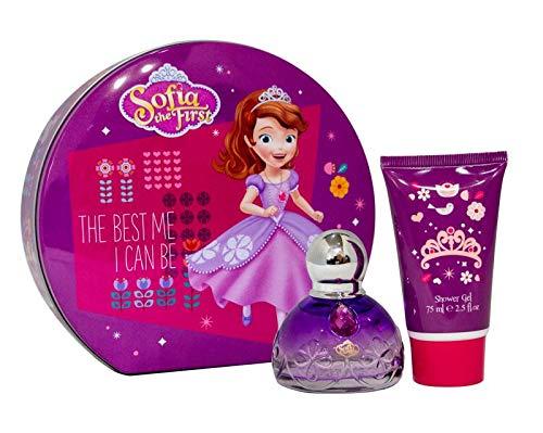 Princesse Sofia Geschenkset für Prinzessin Sofia mit ihrem Parfüm und königlichem Duschgel (Metallbox), 476 g