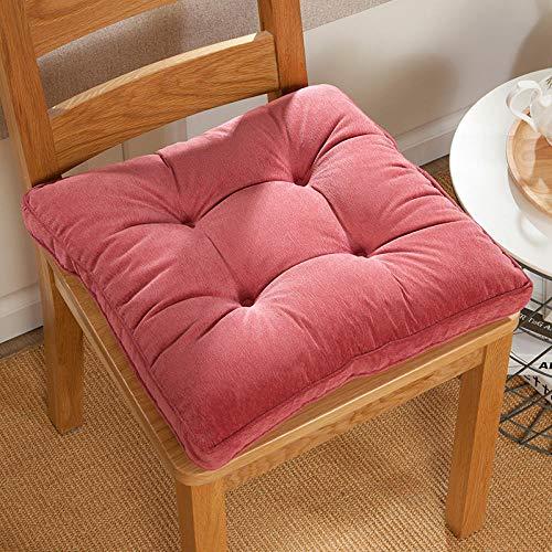 JKCTOPHOME Cojines de Asiento,Cojín de Aumento de Coche, Aprendizaje en el hogar y cojín de Silla de Engrosamiento de Oficina-E_50 * 50cm,Almohadillas para sillas