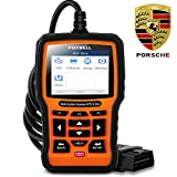 FOXWELL NT510 Elite OBD2 Scanner Code Reader for Porsche, Full System HVAC 4WD Bi-Directional Scan Tool with Oil Reset EPB SAS TPS TPMS and Battery Registration etc