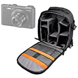 DURAGADGET Mochila para cámara Easypix W1400 Active | Olympus TG-4 | HP C-150w | GE DV1 | Nikon S32 | Polaroid ID 516 Resistente Al Agua + Funda Impermeable
