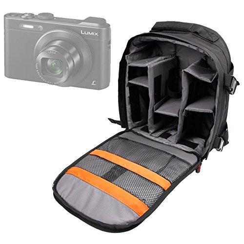 DURAGADGET Mochila para cámara Easypix W1400 Active   Olympus TG-4   HP C-150w   GE DV1   Nikon S32   Polaroid ID 516 Resistente Al Agua + Funda Impermeable