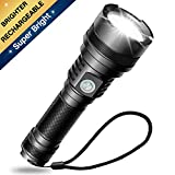 Babacom Torch, SuperBrightUSBRechargeableLEDTorches, Flashlight for Camping, Hiking, Emergency Use and Indoor