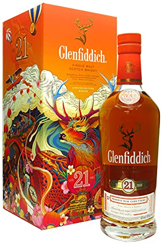 Glenfiddich - Chinese New Year Edition - 21 year old Whisky