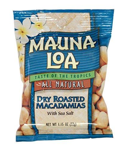 ハワイアンホースト マウナロア 塩味マカデミアナッツ Sサイズ  32g×6袋