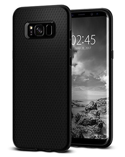 Spigen Liquid Air Hülle Kompatibel mit Samsung Galaxy S8 Plus -Schwarz