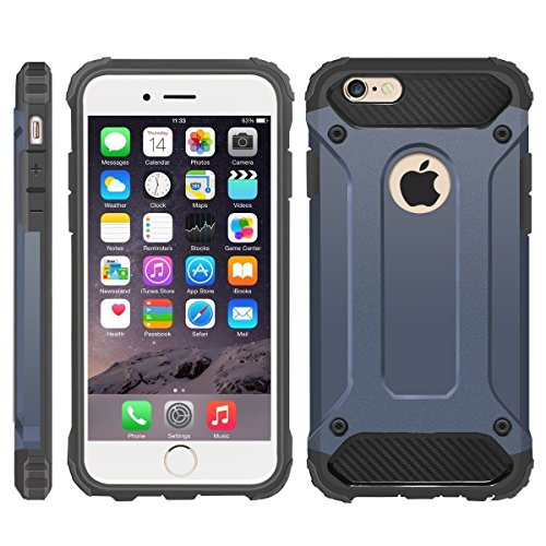 iPhone 6 Case, iPhone 6S Cover, Military-Duty Case - Impact Resistant...