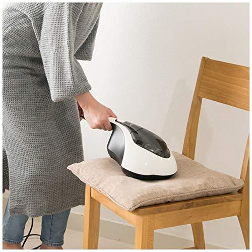 布団クリーナー花粉対策布団掃除機紙パック不要温風UVランプ