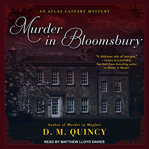 Murder in Bloomsbury audiobook cover art