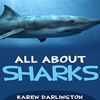 All About Sharks audiobook cover art