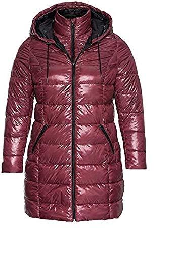 Sheego - Damen Steppjacke Jacket Winter warm Cozy lila pink Violet Jacke (44)