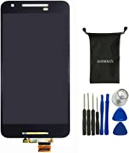 Sunways LCD Display Touch Digitizer Glass Lens Screen Replacement for LG Google Nexus 5X H791 H790 【No Frame】
