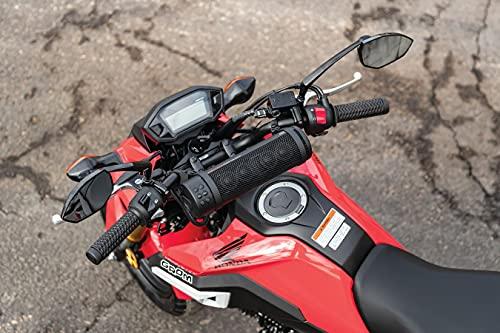 Kuryakyn 2720 MTX Road Thunder Weather Resistant Motorcycle Sound Bar Plus: 300 Watt Handlebar Mounted Audio Speakers with Bluetooth, USB Power Charger, Satin Black