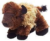Wild Republic Hug´EMS Bisonte de Peluche, Peluche 18 cm