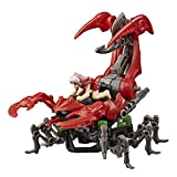 ZOIDS Hasbro Mega Battlers Needle - Scorpion-Type Buildable Beast Figure with Wind-Up Motion - Toys for Kids Ages 8 and Up, 33 Pieces (E5536)