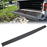 ECOTRIC Rear Trunk Top Protector Cover Tailgate Moulding Cap Black Compatible with 2009-2014 Ford F150 F-150