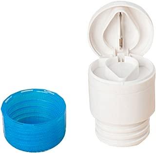2-en-1 Pastilla De Corte Trituradora De Polvo Comprimido De La Medicina Corte Divisor Amoladora Azul