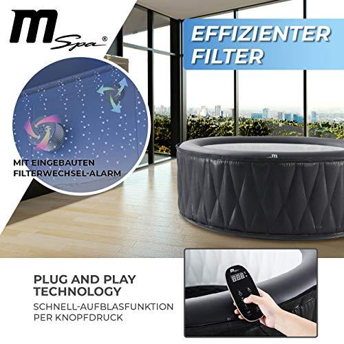 Miweba MSpa Premium Mont Blanc P-MB06 aufblasbarer Whirlpool - Bild 6
