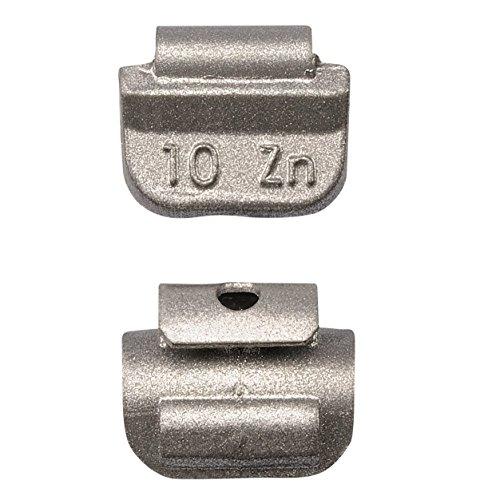 25x 10g Schlaggewichte Stahlfelgen Auswuchtgewichte Wuchtgewichte Gewichte 10 Gramm