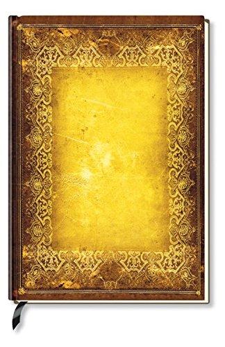 Notizbuch - liniert - Golden Book XL A4