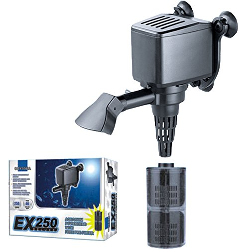 Odyssea EX 250 DX Internal Filter Powerhead Aquarium Water Pump Submersible