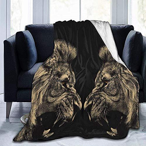 NA Roar Lion Ultra Soft Micro fleece deken warm deken voor bed bank woonkamer