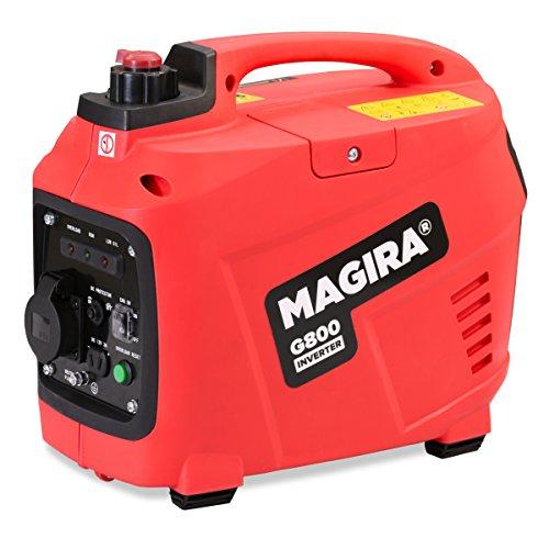 MAGIRA Inverter Stromerzeuger 0,8 kW Leiser Benzin Strom Generator in 7 Varianten: 0,8kW - 3,3kW