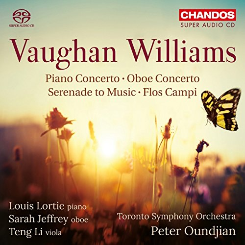 Vaughan Williams: Klavierkonzert in C / Serenade to Music / Flos Campi /+