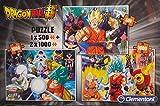 Dragon Ball Super - Caja de 3 rompecabezas en 1: 1 x 500 y 2 x 1000 piezas