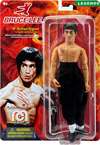 "Mego Action Figure, 8"" Bruce Lee, Legendary Martial Artist ( Edition Collector's Item)"