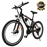 ANCHEER Electric Mountain Bike, 250W 26'' Electric Bicycle with Removable 36V 8AH Lithium-Ion Battery for...