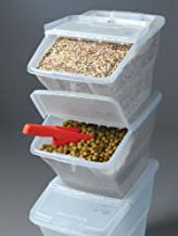bulk food scoop bins