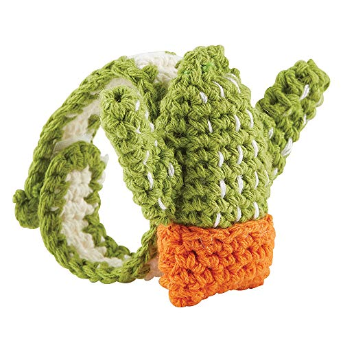 Best Review Of 2 Soft Cotton Crochet Rattle Wristlet with Cactus Design for Babies