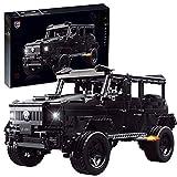 Elroy369Lion Technic G500 Wagon Car Stem Toy - Juego de construcción para niños y niñas a partir de 10 años, coche con motor de juguete (2660 unidades)