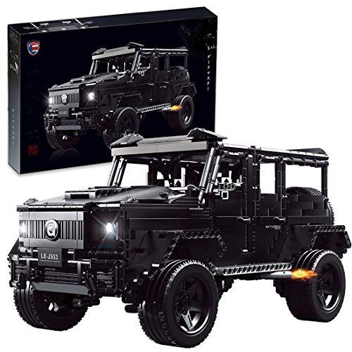 FADY Technik Bausteine Auto, Statisch Off-Roader Bauset Modell Kompatibel mit Lego Technic - 2687 Teile