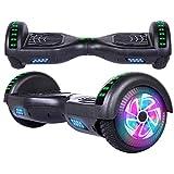 Hoverboard, Électrique Gyropode Hoverboard 6,5 Pouces Self Balance Scooter, 2 * 300W Smart Gyropode Segway, Électrique...