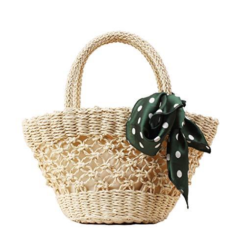 FAIRYSAN Borsa a mano a forma di cuore beige con borsa a forma di semplice borsa