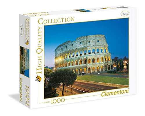 Clementoni - 39457 - High Quality Collection Puzzle - Roma, Colosseo - 1000 Pezzi