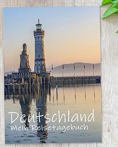 Reisetagebuch Deutschland zum Selberschreiben | Tagebuch - Notizbuch mit viel Abwechslung, spannenden Aufgaben, tollen Fotos uvm. | gestalte deinen individuellen Reiseführer | Geschenkidee | Calmondo
