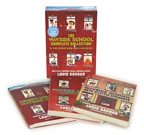 The Wayside School 3-Book Box Set: Sideays Stories from Wayside School, Wayside School Is Falling Down, Wayside School Gets a Little Stranger