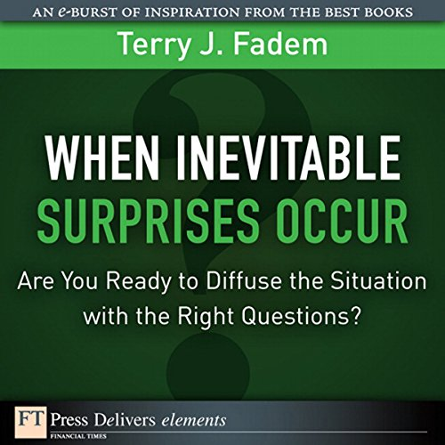 When the Inevitable Surprises Occur. . . . Are You Ready to Diffuse the Situation with the Right Questions? Titelbild