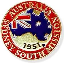 LDS Australia Sydney South Mission Commemorative Lapel Pin