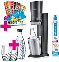SodaStream Crystal 2.0 Wassersprudler-Set Promopack mit CO2-Zylinder