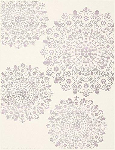 150 x 200 cm Brandsseller Couverture en Flanelle avec c/œurs Imprim/é 150/x 200/cm Polyester Altrosa//Wei/ß