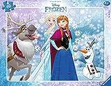 Ravensburger Kinderpuzzle 06141 - Anna und Elsa - Puzzle für Kinder ab 4 Jahren, Rahmenpuzzle mit Disney Motiv