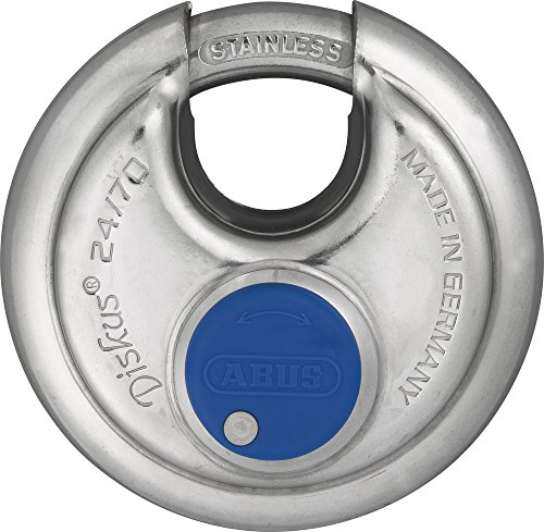 Abus - 24IB/60 Discus hangslot roestvrij staal Carded - ABU24IB60C