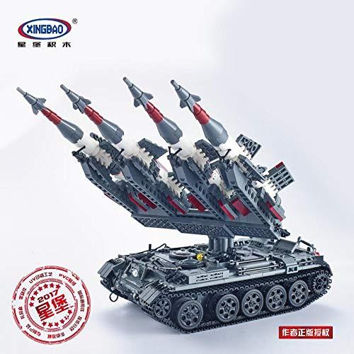 Xingbao Militär Model: SA-3 GOA mit T55 Panzer (o. Figuren + Set umgepackt) ArtikelNr. XB06004, Teile 1753