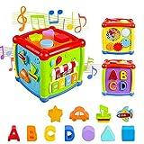 AiTuiTui Música Cubo de Actividades, 6 en 1 Incluye Caja de