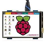 ELECROW 3.5インチ モバイルモニター Raspberry Pi用 3.5インチ モニター タッチパネルモニター HDMI LCD ディスプレイ ポータブルモニター 480*320 小型液晶モニター Raspberry Pi 4B 3B+ 3B 対応 ゲームモニター 安心保証1年付き