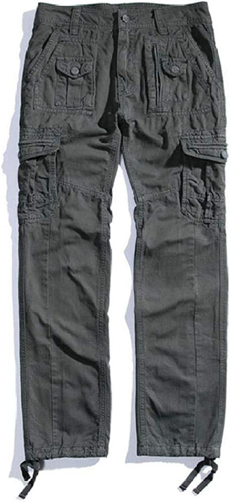 Shuangklei 2020 Ranking TOP18 Mens Military Cargo OFFicial site fit Pants Straight ta Casual