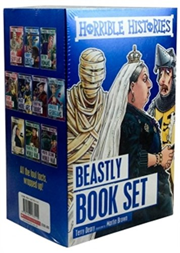 Horrible Histories 10 Book Box Set [Paperback] [Jan 01, 2016] Terry Deary